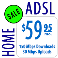 Home ADSL 150 - Introductory Price
