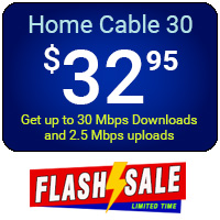 Home Cable 30 - Flash Sale