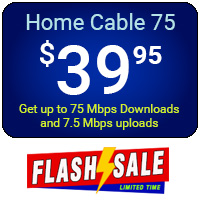 Home Cable 75 - Flash Sale