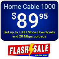 Home Cable 1000 - Flash Sale